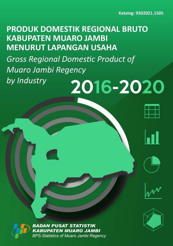 Produk Domestik Regional Bruto Kabupaten Muaro Jambi Menurut Lapangan Usaha 2016 - 2020