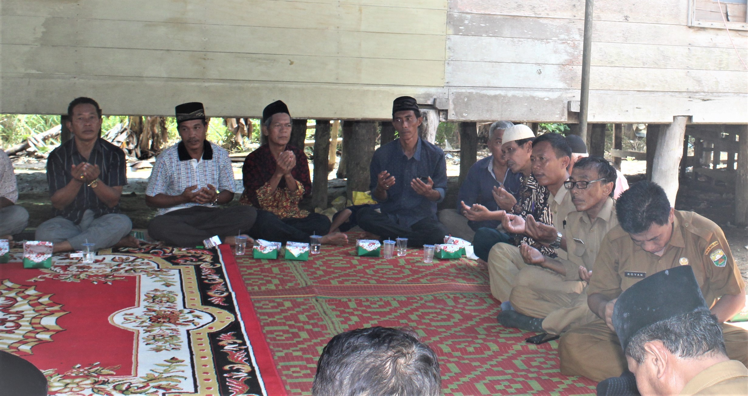 Kadis Kominfo Menghadiri Penyerahan Rumah hasil Program Bedah Rumah di Kelurahan Sengeti