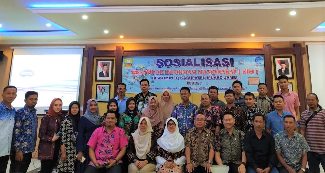 Sosialisasi Kelompok Informasi Masyarakat (KIM) Kabupaten Muaro Jambi Tahun 2019